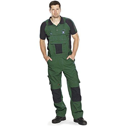 Mascot Unique Poloshirt zweifarbig grün/schwarz
