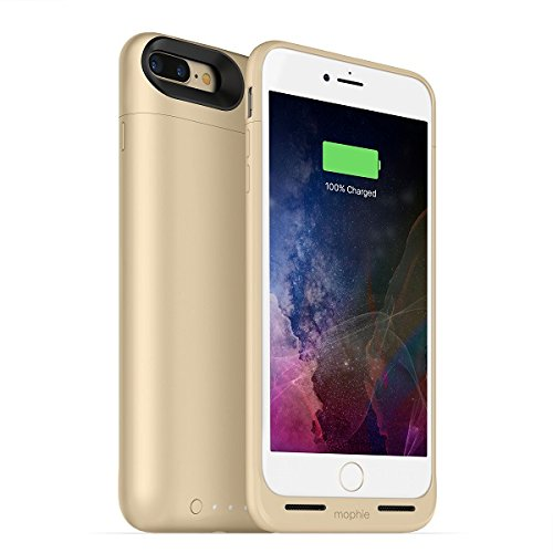 Mophie Juice Pack Air – Carcasa batería Certificado MFI 2525 mAh para iPhone 7 Plus oro