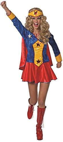 Imagen de stekarneval  disfraz de superhéroe para mujer, talla uk 10  12 426038