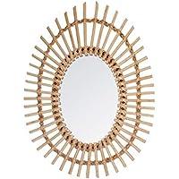 Amazon.fr   miroir rotin - Meubles   Ameublement et décoration ... 8d5edbdcbdcd