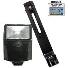 Slave flash numérique avec support pour pentax k-01 q, k-x-k-7–k-5, k-r, 645D, k20D, k10D, k200D, k2000 k2000, k1000, k110D, k100D super *, d ***, dL, est ist dS/dS2 appareil photo numérique reflex