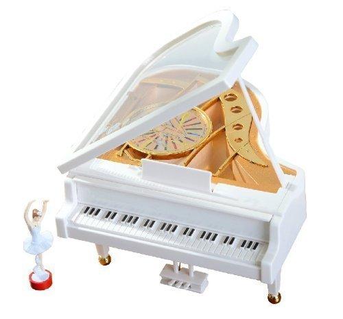 Alytimes Mechanical Classical ballerina Girl Dancing on the piano Music (Ragazze Music Box)