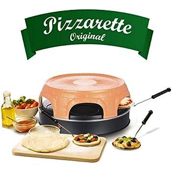 Emerio Pizzaofen Tischgrill Pizzamaker Pizzarette Miniofen Grillplatte Pizza