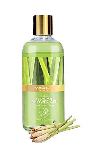 Vaadi Kräuter Duschgel, Enticing Zitronengras, 300ml - (Verpackung können variieren) - Kräuter-zitronengras Shampoo