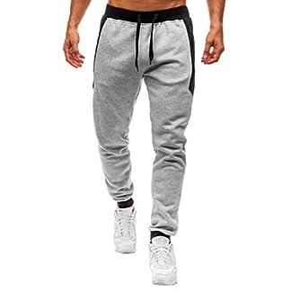 Pantalón para Hombre Casual Jogging Algodón Pantalones de chándal Sueltos Ocasionales Hombre Pantalones Largos Deportivos Jogger Casuales Primavera y Verano