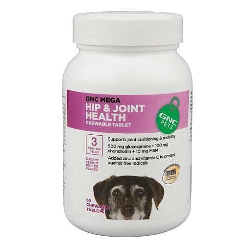 hip-joint-health-chewable-tablet-for-senior-dogs-in-dreamy-peanut-butter-flavor-60-count-by-gnc-ultr