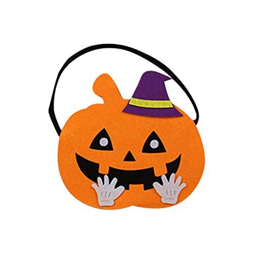 Daygeve Zuhause Party Deko, Anatomische Tracing, Medizinische Lehre, Halloween Dekoration Statue,Halloween Kürbis Candy Bag Kinderhexe Trick Treat Handtasche Kinder Aufbewahrungstasche