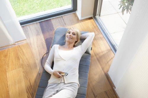 Medisana MM 825 Massagematte mit 5 Programmen und 4 Massagezonen -