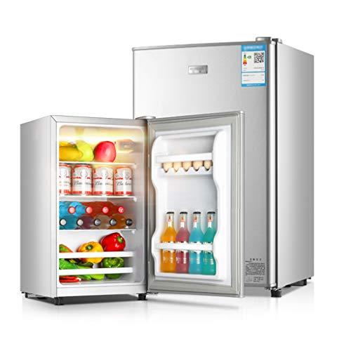 Unbekannt Kühlschrank Eintüriger Kühlschrank 60/68 / 88L 0,34 kW • h / 24h Energieeinsparung Gekühltes Gefrieren 40 dB Geräuschpegel Haushaltssilber