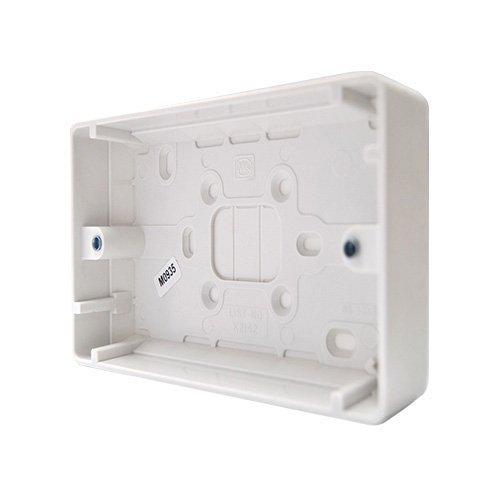 Bulk Hardware bh04933Geformte Lichtschalter Oberfläche Aufputzdosen Objektbereich 25mm Tief, Set von 2Stück