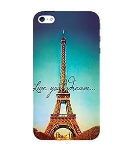 Effie Tower Dream 3D Hard Polycarbonate Designer Back Case Cover for Apple iPhone 4 :: Apple iPhone 4S