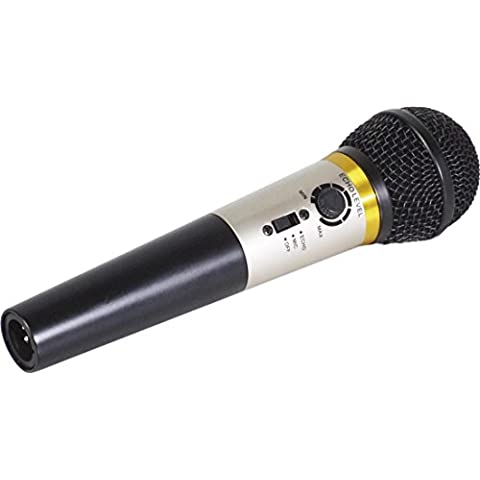 Sr.Entertainer Karaoke Micrófono Incorporados Control De Echo 1 Paquete / S
