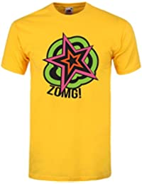 Grindstore Zomg! Men's Yellow T-Shirt