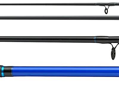 FLADEN XTC BLUE (3.6m / 12ft) 4 Piece Travel BEACHCASTER Surf Sea Fishing Rod (100g to 250g ) for Coastal Shore Fishing [12-743604] from FLADEN