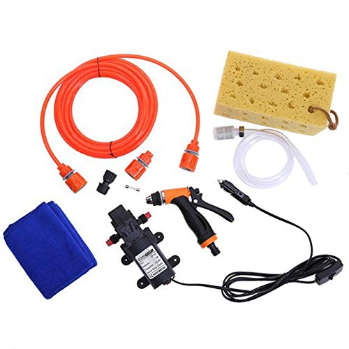 Pump Gun Washer 12V 60W Car High Pressure Cleaner Car Care Lavatrice
