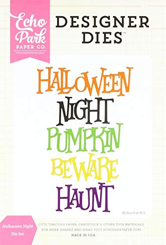 Echo Park Paper Company EPPDIE575 Formen-Set Halloween Night