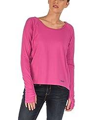 Bench para mujer de manga larga firme rosa rosa/morado Talla:medium