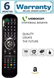 Videocon Universal LED/LCD TV Remote ( Works With All Videocon Tv Models) By Mepl