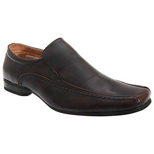 Pelle Mocassini Uomo In Scuro Goor Marrone YqUA8x