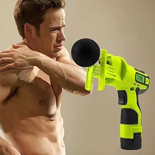 raspbery Muskel-Massagegerät-Gewehr, Professioneller Tiefer Muskel-Therapie-Massage-Gewehr-Stoßkörper Entspannen Sich Massager-elektrische Maschinen-Sport-Wiederaufnahme (Entspannen Maschine)