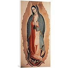 """Cuadro en lienzo: Miguel Cabrera """"Virgen de Guadalupe"""" - Impresión artística de alta calidad, lienzo en bastidor, 50x90 cm"""