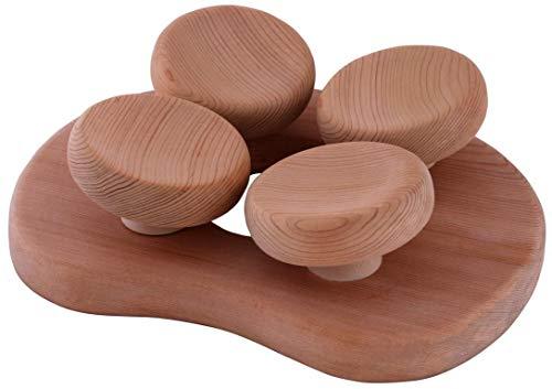 Sauna Kopfstütze ergonomisch perfekt für jeden Kopf