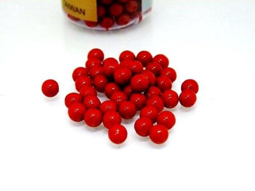 Nerd Clear Softair Farbkugeln Rote Farb Kugeln 500 StÜck!