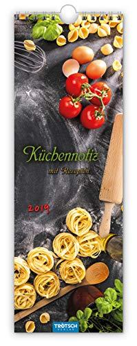 Terminkalender Küchennotiz 2019 Terminplaner Notizkalender Küchenkalender mit Ringbindung: Mit Rezepten! par  Trötsch Verlag