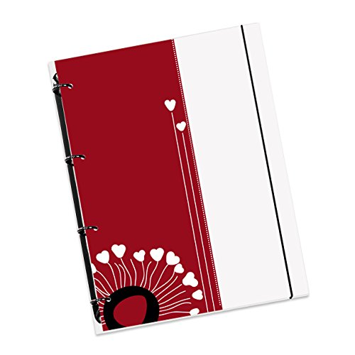Schaar-Design flexiNotes NOTIZBUCH A4 nachfüllbar mit Register, Collegeblock + Ringbuch vereint als...