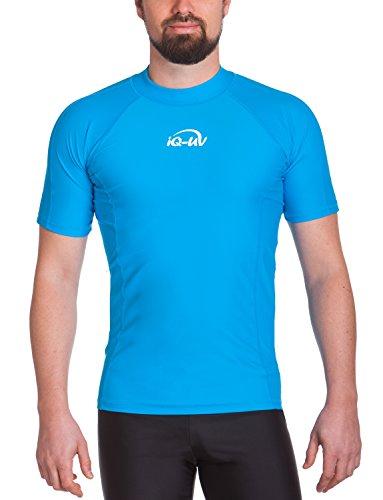 iQ-UV Herren UV 300  Slim Fit Kurzarm T-Shirt, türkis (hawaii), XL (54) (Kostenloser 75 Cent Versand)