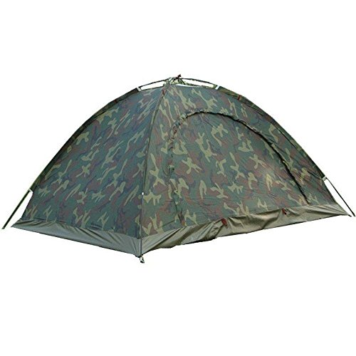 FWQPRA® Waterproof Dome Picnic Camping Portable Army Color 2 Person Tent