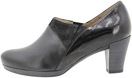 Calzado mujer confort de piel Piesanto 9312 zapato abotinado cómodo ancho