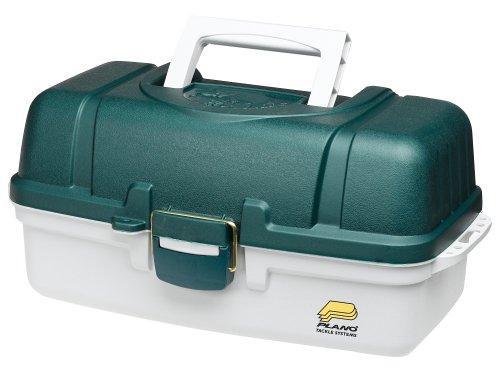 Plano Angelkoffer PLA6103 Kasten (Gerätebox mit drei Laden) Rib Side Box