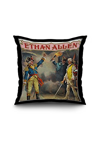 ethan-allen-brand-cigar-box-label-20x20-spun-polyester-pillow-case-black-border