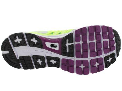 Nike Wmns Zoom Vomero 9, Scarpe sportive, Donna Plateado (Pr Platinum / White-Vlt-Brly Vlt)