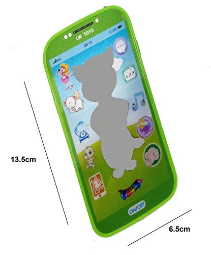 Shanaya Toys Digital Mobile Phone with Touch Screen Feature, Amazing Sound and Light Toy - Mix Models