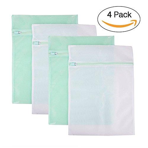 idealeben-sacs-a-linge-en-filet-polyester-protege-les-textiles-lot-de-4