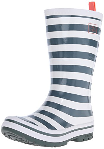 Helly Hansen W MIDSUND 2 GRAPH, Bottes en caoutchouc à tige longue femme Multicolore - Gris / Blanco (899 Rock / Off White / Brght Bloom)