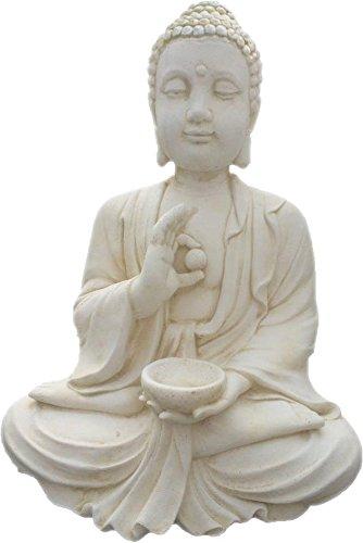 Deco Granit Bouddha en pierre reconstituée Zenitude