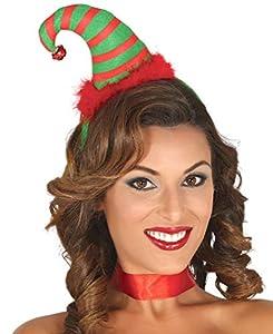Guirca Diadema Gorro Elfo Navidad 42383