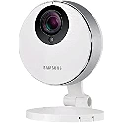 Samsung Cámara de vigilancia de 2 Mp (sensor CMOS, Full HD, RJ-45), blanco