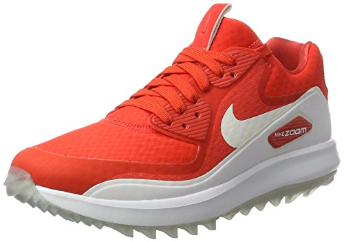 Nike Air Zoom 90 it, Chaussures sport femme Orange (Max Orange/white)