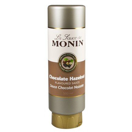 Le Sirop de Monin Schokolade-Haselnuss Sauce 0,5l