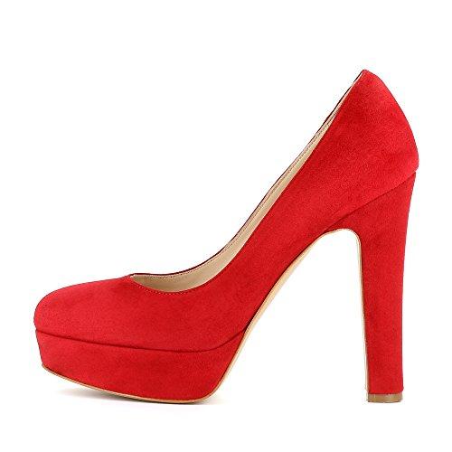 Evita Shoes Riccarda, Scarpe col tacco donna Rot