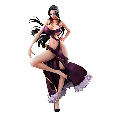 Shuihua Figura de acción One Piece Boa Hancock Purple Ver -9in