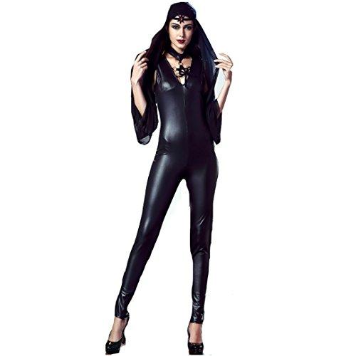 CHEN Rollenspiel Erotische Uniform Hexenkostüm Vampir Teufel Kostüm Set Kostüm von Halloween