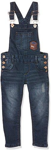 Brums Mädchen Latzhose 173BGBF003, Blu (Blu Scuro Jeans), 140 cm