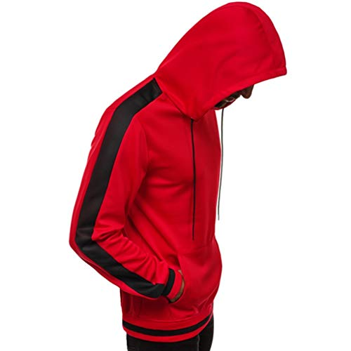 WuWangHai Originals Basic Kapuzenpullover Hoodie Sweater Pullover Sweatshirt