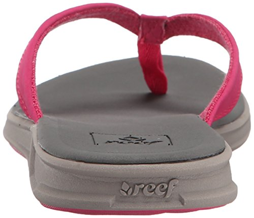 Reef Rover Catch, Tongs Femme, Noir Rose - Rosa (Grey / Pink)