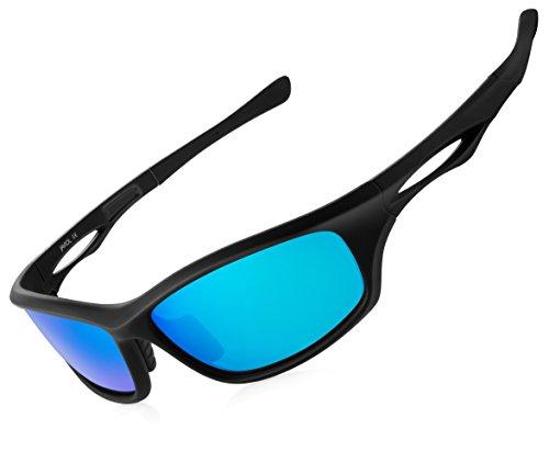 Vecien polarizzati sportivi uv400 occhiali da sole e montatura leggera incentrati su ciclismo, con un design fresco + aspetto alla moda, forniscono un'esperienza incredibile.